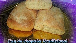 Pan de chapata tradicional con ZERO GLU