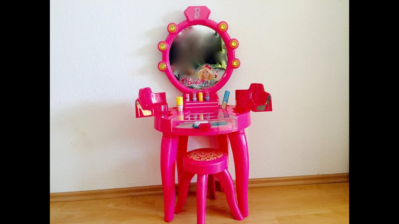 Barbie Vanity Princess Dressing Table Play Set Barbie