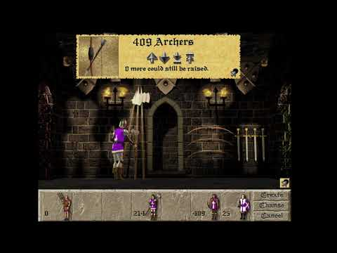Lords of the Realm 2 Modded Game Play Commentary:  (Expert Play Through Map 1) |