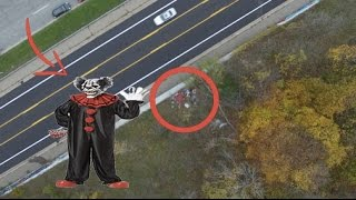 HUNTING KILLER CLOWNS WITH A DRONE! (PART 2)