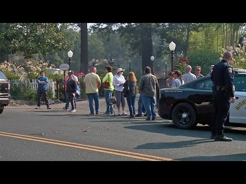 Napa Evacuees Allowed Brief Visit to Their Homes