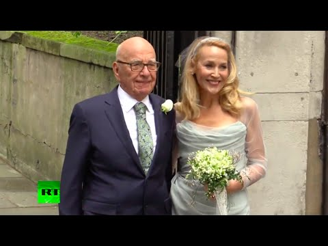 Rupert Murdoch-Jerry Hall wedding & the Who's Who of Power