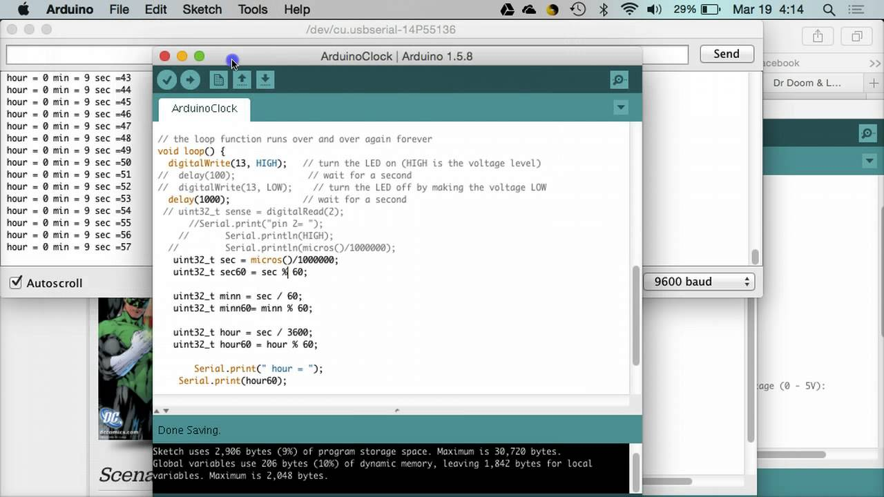 Arduino Digital Clock Code Demo Youtube For Beginners With 7segments Led And Rtc