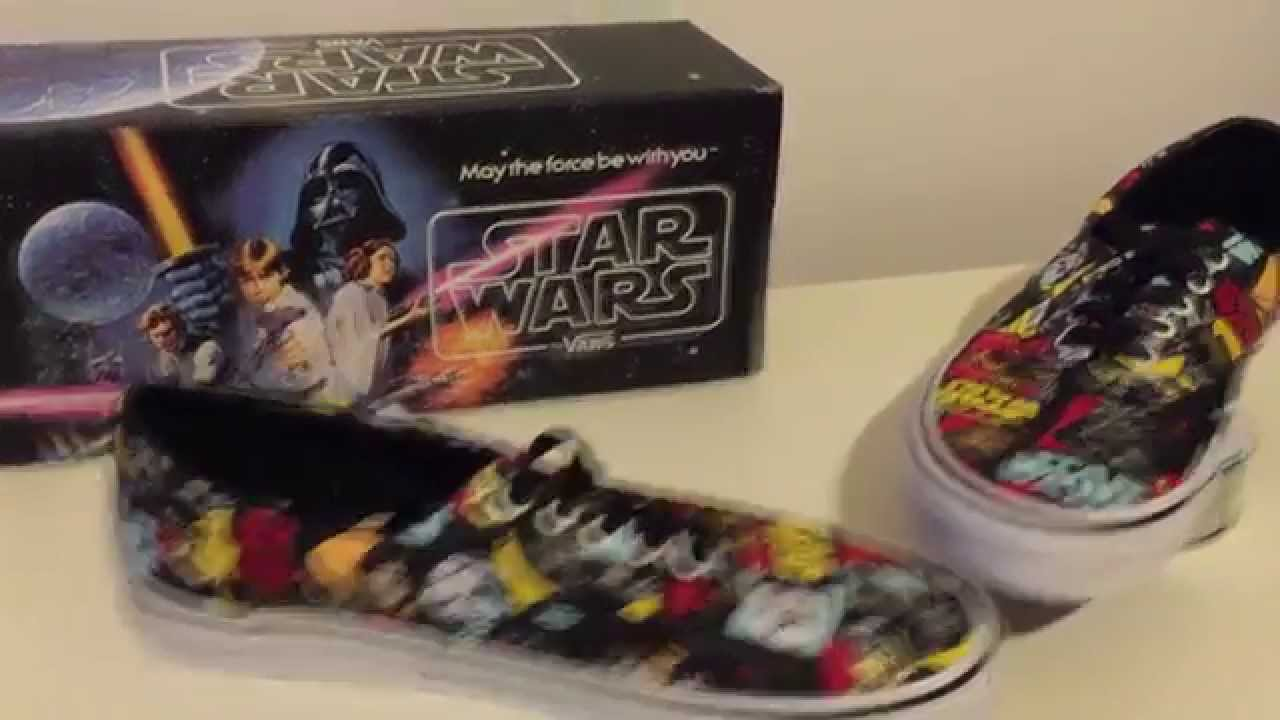 5be8fb831e785c STAR WARS VANS ERA CLASSIC REPEAT - SHOES   PACKAGING REVIEW - YouTube