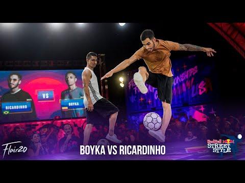 Boyka Vs Ricardinho - Final | Red Bull Street Style 2019