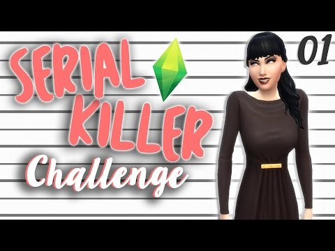 The Sims 4 | Serial Killer Challenge: Intro, House, Trapping Sims! [1] | Mousie