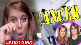 Royal heartbreak - Princess Beatrice shed tears on video call for CANCER with Princess Eugenie