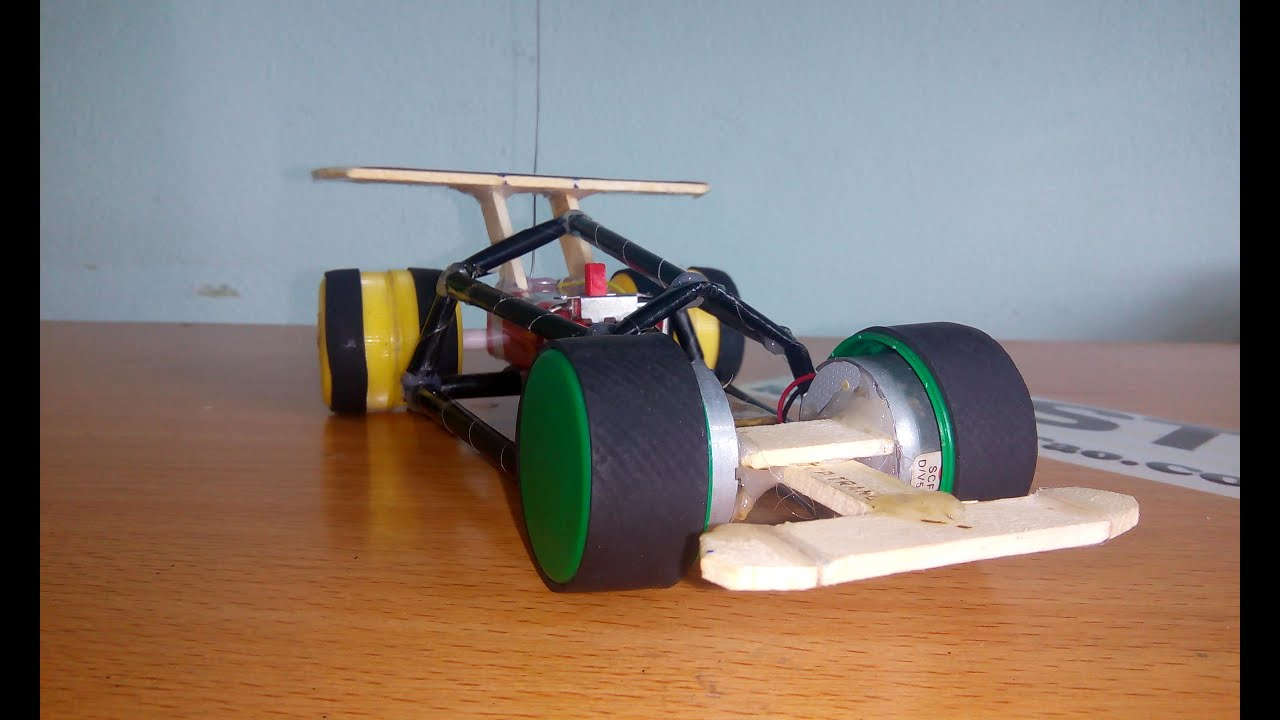 Diy how to make f1 rc mini diy formula 1 remote control for How to create a motor