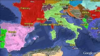 Capitales de Europa / Capitals of Europe. Formación [IGEO.TV]