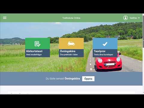 Trafikskola Online - Läromedel Bil - B