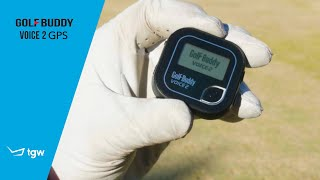 GolfBuddy Voice 2 GPS Review