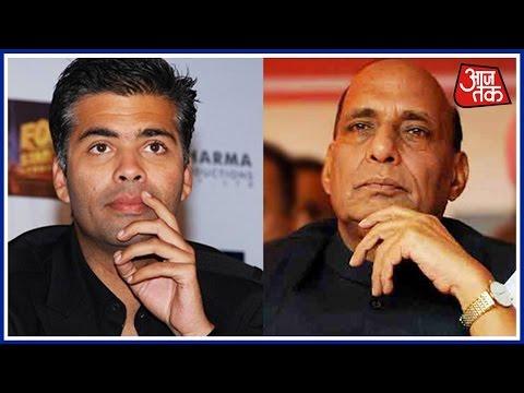 Karan Johar Meet Rajnath Singh Today