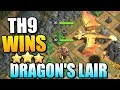 """TH9 DRAGON'S LAIR STRATEGY!! """"Clash of Clans"""" - Best Dragons Lair Attack Strategy - CoC Update!"""