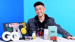 10 Things Rich Brian Can't Live Without | 10 Essentials | GQ JAPAN
