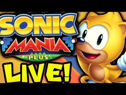 Sonic Mania Plus 100% Playthrough
