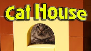 Lego Cat House / Лего дом для кошки