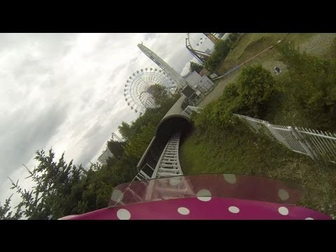 Dodonpa Roller Coaster POV Fuji-Q Highland Japan World's Fastest Acceleration ドドンパ