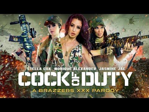 Brazzers Presents: Cock of Duty XXX Parody (TEASER TRAILER 2016)
