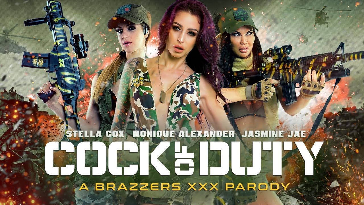 Cock of duty xxx parody