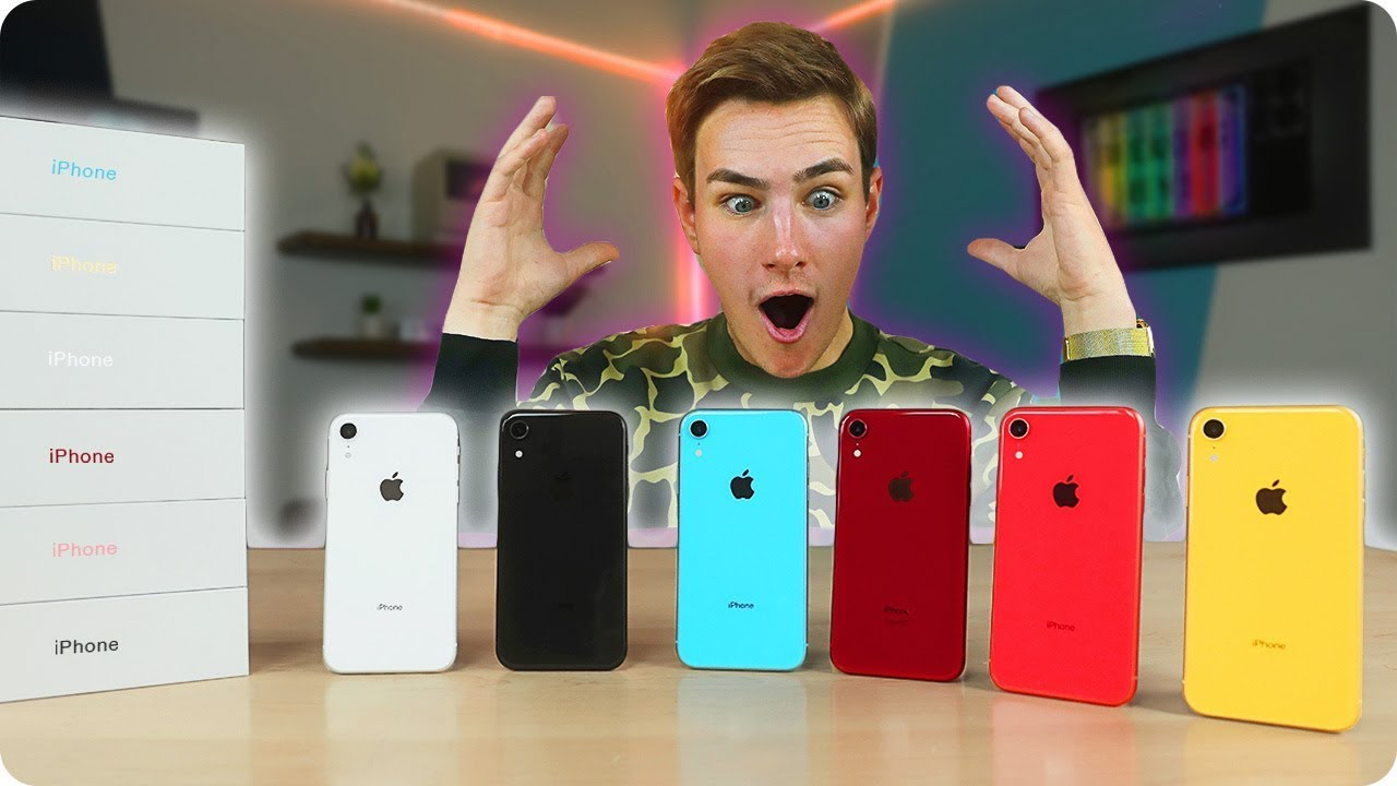 unboxing-every-iphone-xr-with-asmr-rainbow-colors