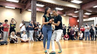 Bari & Wimmy - Kizomba at NZ Salsa Congress 2021 (CEF Tanzy - É Só Já Orar)