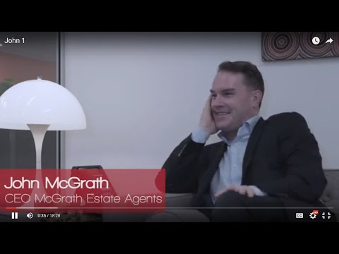 Personal Stories with John McGrath, CEO of McGrath Estate Agents - Claudio Encina