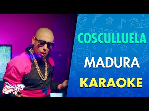 Cosculluela Ft Bad Bunny - Madura (Karaoke) | CantoYo