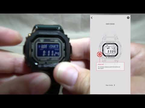 Review Casio G-Shock GMW-B5000GD-1CR and Gshock Connected App