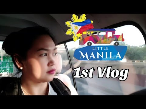 HELLO MANILA PHILIPPINES! 🇵🇭 | 1st VLOG 😁😀