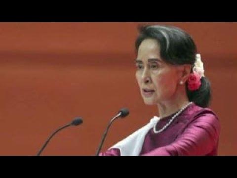 Aung San Suu Kyi criticized over handling of Myanmar crisis