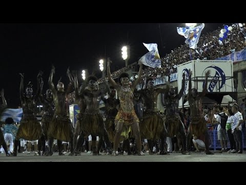 Deux Françaises brillent au Carnaval de Rio