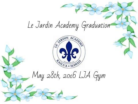 Le Jardin Academy Graduation 2016