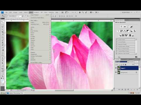 Photoshop CS4 - Phan 1 - Bai 26 - Tang net anh KTS
