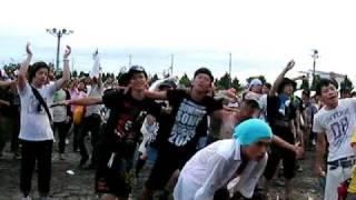 summersonic09大阪★ B'z サマーソニック大阪の客の勢い★