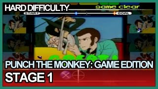 Punch The Monkey: Game Edition - Stage 1 Hard