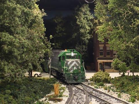 Virginia Midland HO Layout September Update Vol #51