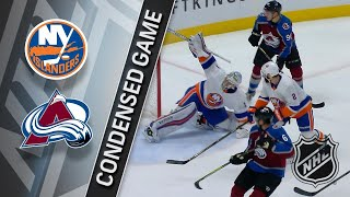 12/31/17 Condensed Game: Islanders at Avalanche