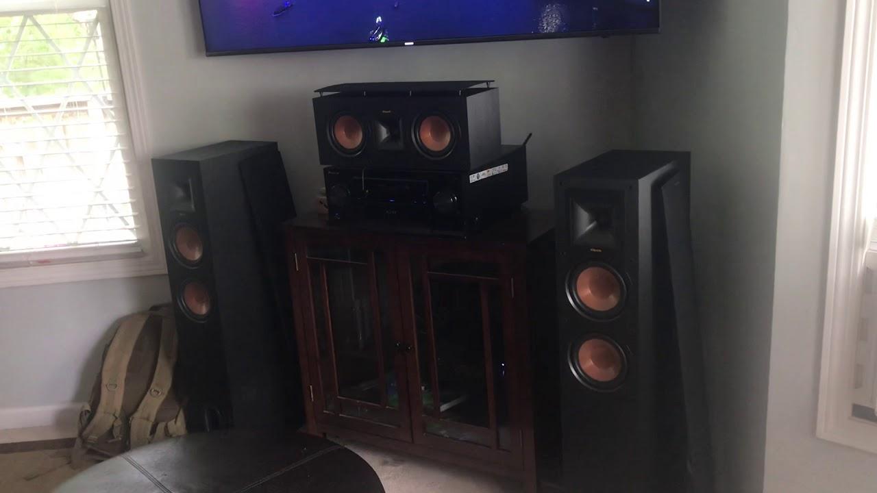 Polk Audio s35/s55 vs Klipsch r25c/r26f