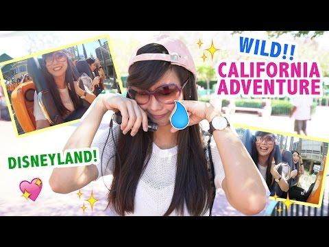 WILD DISNEYLAND / CALIFORNIA ADVENTURE!!💖 - Alodia Vlog