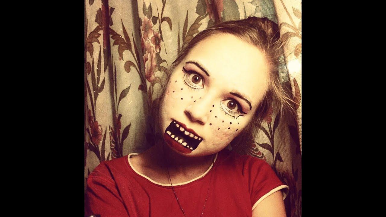 Простой макияж на Хэллоуин, создаем образ самостоятельно For 30