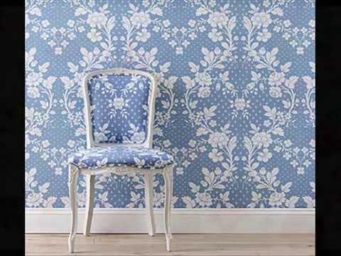 petite paix coinc e dans le papier peint ancien youtube. Black Bedroom Furniture Sets. Home Design Ideas
