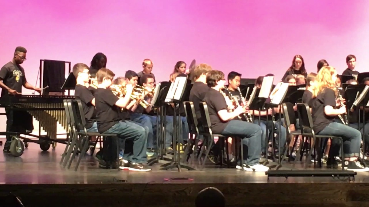 dean rusk middle school 7th grade beginner band music in the parks competition activity youtube. Black Bedroom Furniture Sets. Home Design Ideas