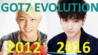 GOT7 EVOLUTION 2012-2016