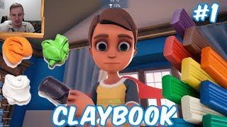 - 892 ПЛАСТИЛИНОВЫЙ ЧУДО МИР Claybook 1