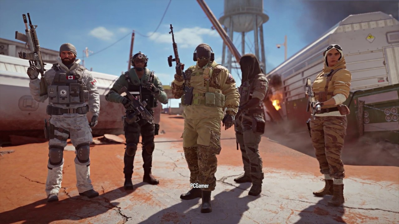 Everything coming in Rainbow Six Siege: Operation Phantom Sight, and