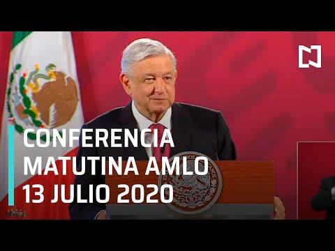 Conferencia matutina AMLO/ 13 de Julio 2020