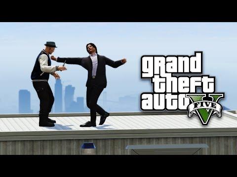 UDARAM KAO BOKSER !!! Grand Theft Auto V - Deathrun w/Cale