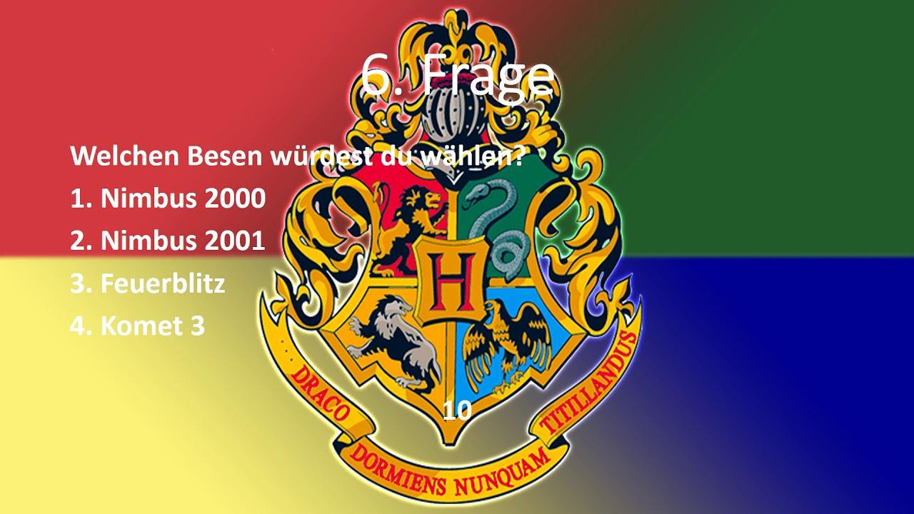 In Welches Hogwarts Haus Gehorst Du Youtube