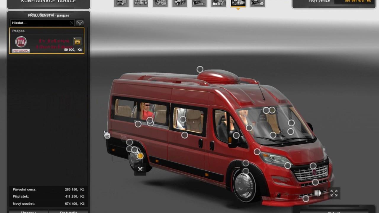 ets2 euro truck simulator 2 fiat ducato for ets 2 youtube. Black Bedroom Furniture Sets. Home Design Ideas