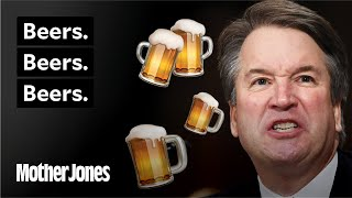 Beers. Beers. Beers. All the Times Kavanaugh Said It. And the Awkward Attack It Prompted.